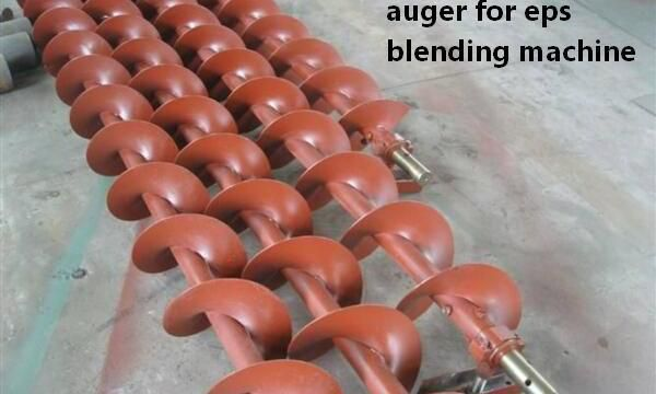 auger mixing machine