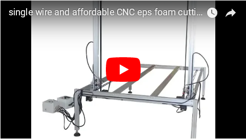 cheap CNC foam cutting machine from China