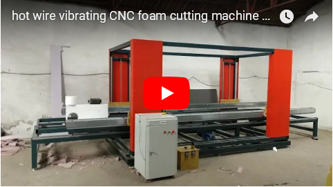 CNC hotwire 2D cutting machine for eps foam mouldings