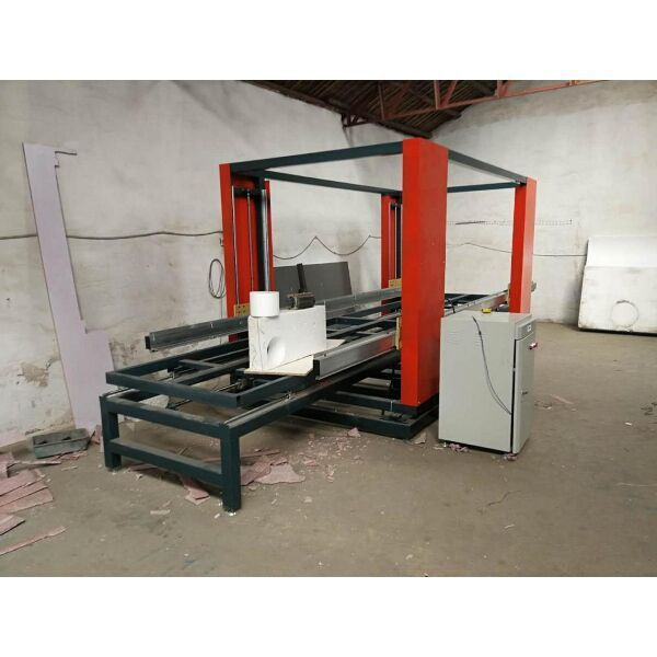 CNC hot wire 2D cutting machine with wire oscillation