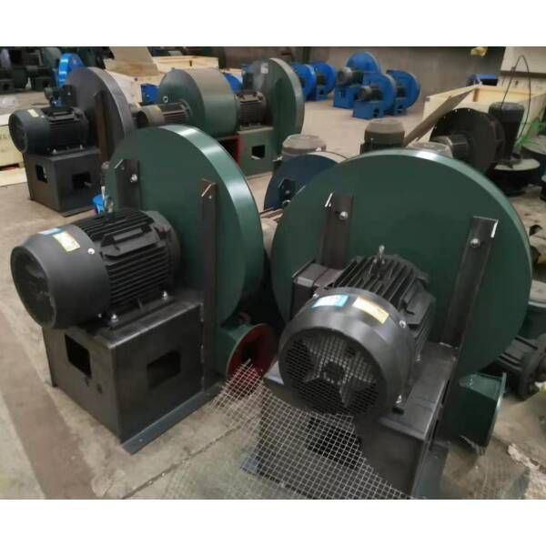 High pressure centrifugal blower for conveying eps materials