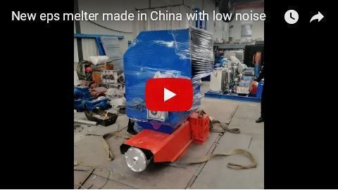 thermocol waste melting machine