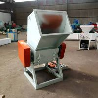 Hot melted EPS shredder for recycling EPS ingots or lump